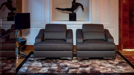 Zestaw KLER Largo - sofa z f.spania + 2 fotele