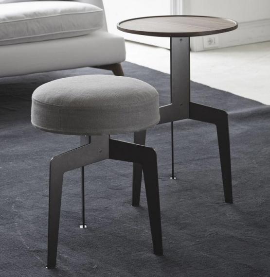 Vibieffe 9500 065, 066, 067, tavolino e pouf