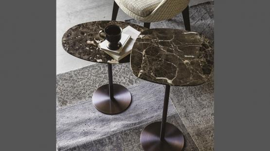 Vibieffe 9500 095, 096, Tavolino in marmo