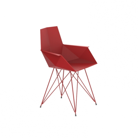 Vondom Faz chair steel base