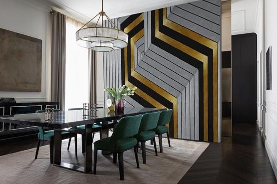 Wall & Deco Golden Hook