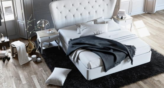 Miotto corona queen size bed